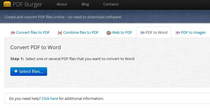 pdf zu word online
