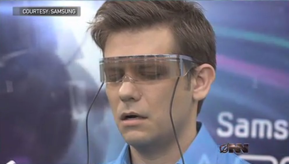 Samsung Apex: Google Glass-Persiflage mit Cybersex-Videostreaming und Fellatio-Simulation