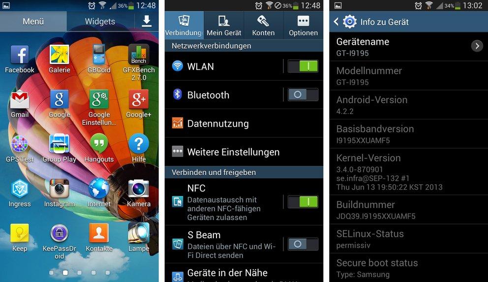 Samsung galaxy s4 mini apps im hintergrund