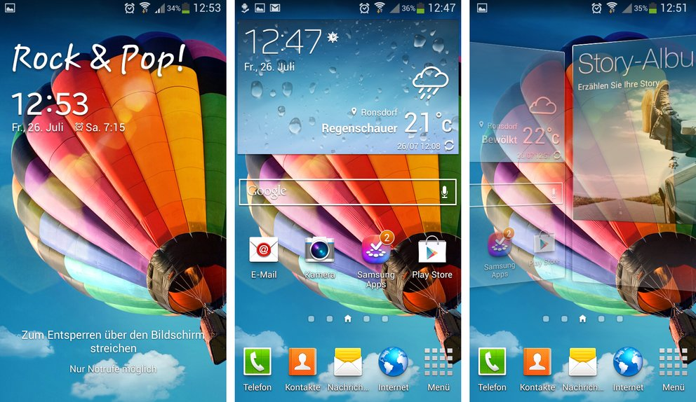 samsung-galaxy-s4-mini-lockscreen-homescreen