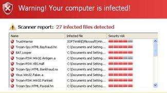 Scareware entfernen: Angst und Schrecken von der Festplatte tilgen