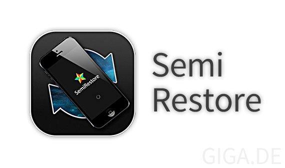 Semi Restore für iOS 7: iPhone wiederherstellen ohne Jailbreak zu verlieren [Anleitung]