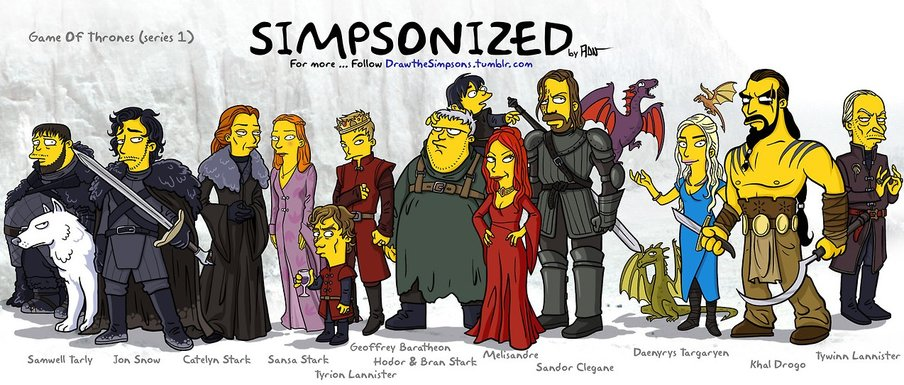 Game of Thrones - Simpsons