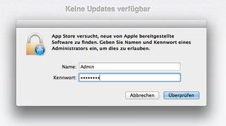 Systemupdates in OS X als Standardbenutzer: So geht's