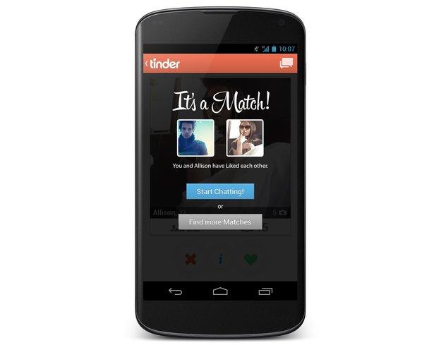 Tinder: Dating-App nach großem Erfolg auf iOS auch für Android veröffentlicht