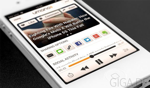 Umano: Interessante Artikel und News professionell vorgelesen [App of the Day]