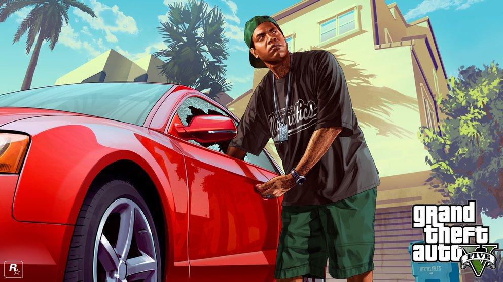 GTA 5 Wallpaper - Lamar