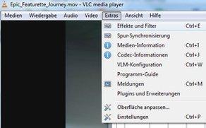 Bildschirm drehen im VLC Player - so geht's um 90 und 180 Grad