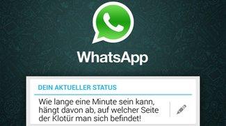 WhatsApp Sprüche: 50 verrückte Status-Meldungen