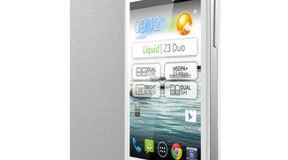 Acer Liquid Z3: Android-Smartphone für unter 100 Euro!