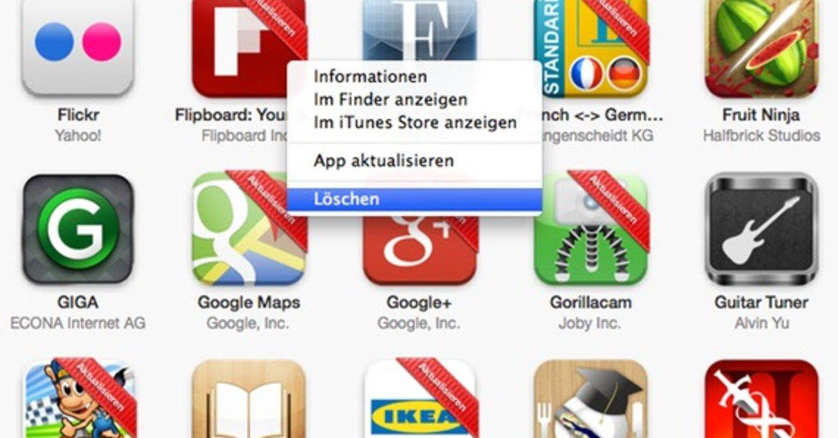 news phone apps loeschen geht