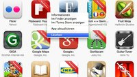 iPhone-Apps löschen: So entfernt man Applikationen unter iOS