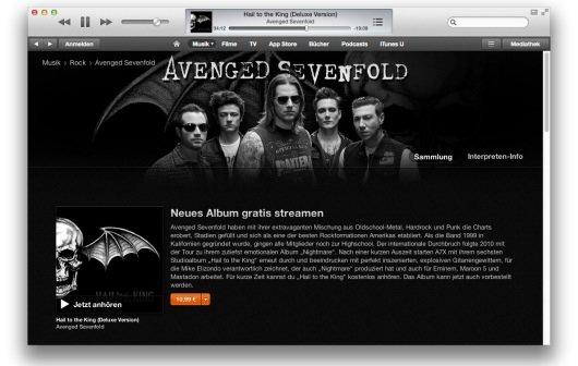 Avenged Sevenfold: Neues Album im kostenlosen Stream