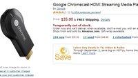 Chromecast: Für 40 Euro über Amazon.com bestellen — so geht's [Update: Wieder verfügbar]