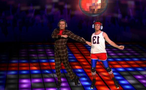 Besser ohne: Stephen Colbert überrascht nach Daft Punk-Absage mit prominenter Tanznummer