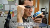 OpenGlass: Wie Google Glass Sehbehinderten helfen kann