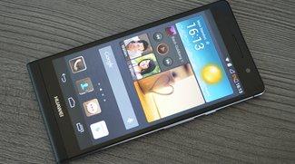 Huawei Ascend P6 im Test: Beauty-Offensive in der Mittelklasse