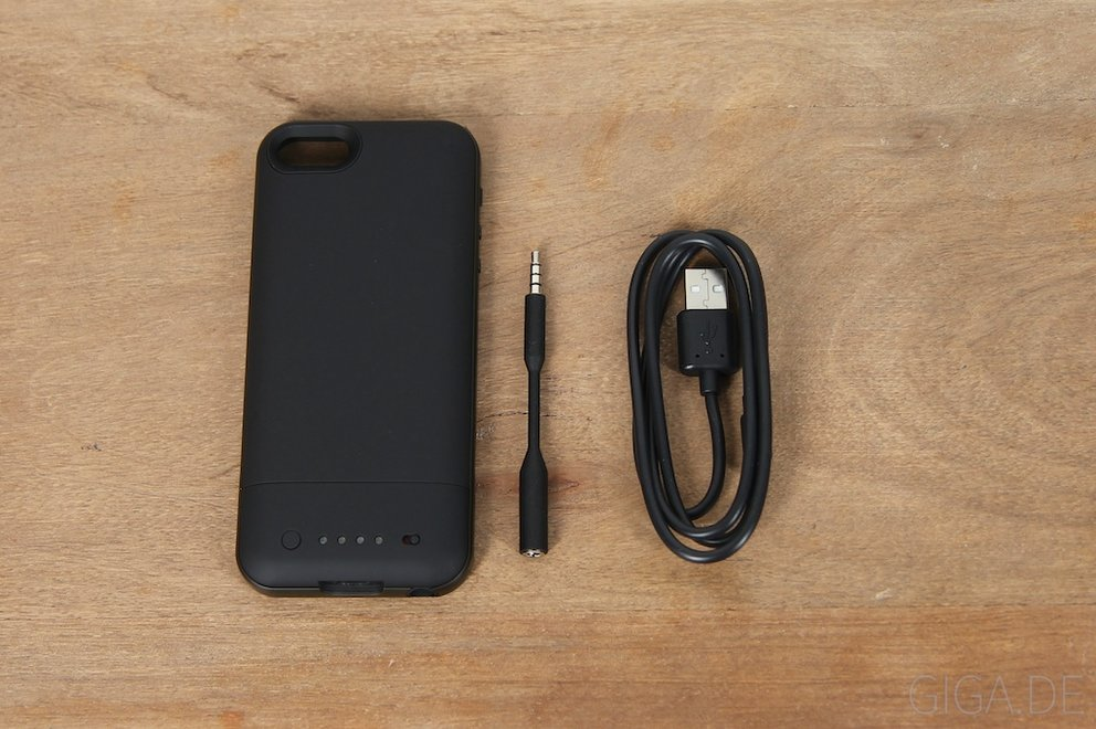 Mophie Juice Pack Air - Lieferumfang