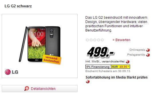 LG G2 Schwarz