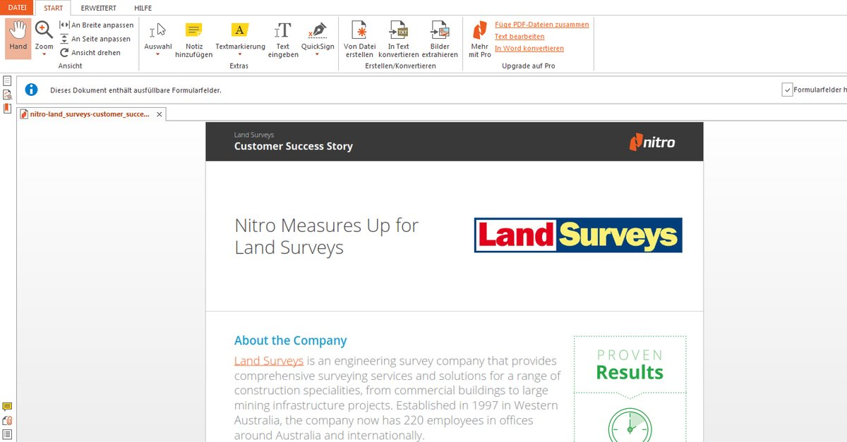 nitro pdf reader offline installer