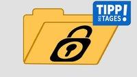 Windows 10, 7, 8: Ordner mit Passwort schützen – so geht's