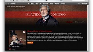 Plácido Domingo mit Verdi-Arien im kostenlosen iTunes-Stream