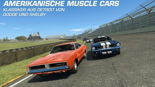 Real Racing 3: Update bringt Muscle Cars und Google-Account-Verknüpfung