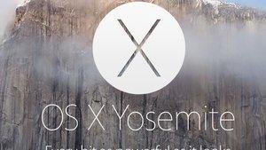 OS X 10.10 Yosemite: Kostenlos mit iCloud Drive, Handoff und mehr