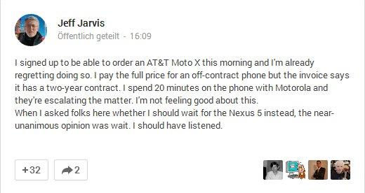 Jeff Jarvis Google+