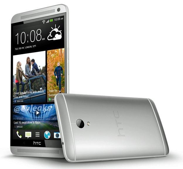 HTC One MAX - das Snapdragon 800-Smartphone zeigt sich auf neuem Photo