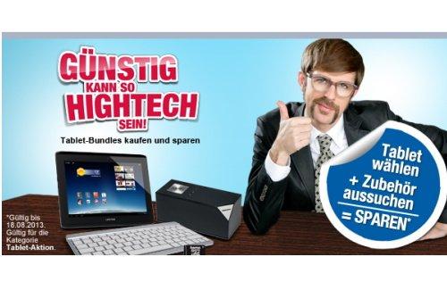 Tablet-Zubehör für 5 Euro in den Tablet Spar-Bundles bei Medion