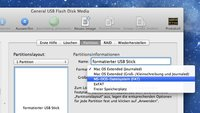 USB-Stick am Mac formatieren: Eine Anleitung