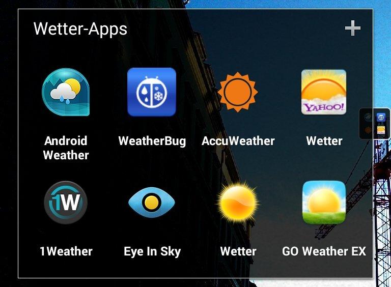 Wetter-Apps für Android im Test: Von schick bis umfangreich [Top 10]