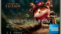 Aus dem Kuriositätenkabinett: Die League of Legends Kreditkarte