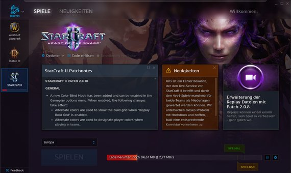 Neuer Blizzard-Launcher: Jetzt in der Open Beta verfügbar