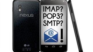 Email-Server: IMAP & POP3-Einstellungen für web.de, GMX, Gmail & Co.