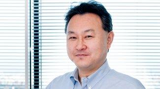 Gute Nacht und bye, bye, Sony Chef: Yoshida in der Konferenz eingepennt