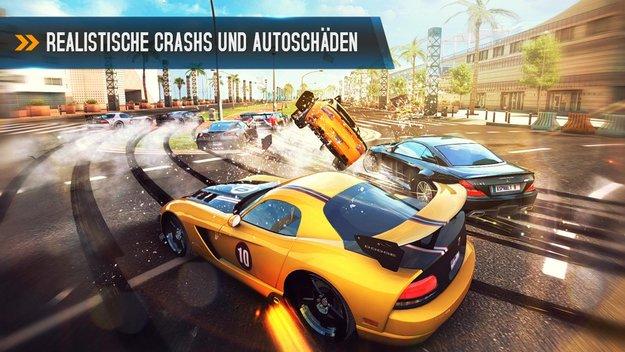 Asphalt 8 Airborne: Rasantes Rennspiel jetzt im Play Store