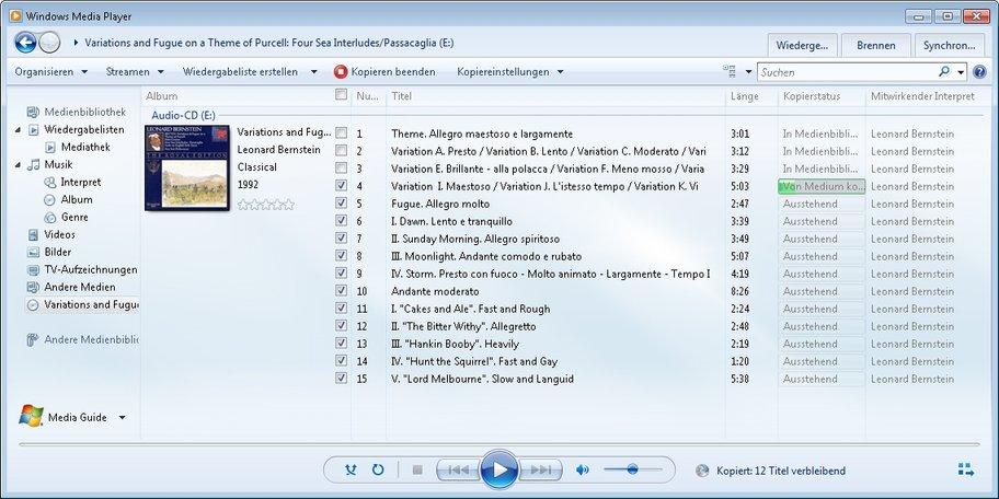 audio cd kopieren mediaplayer