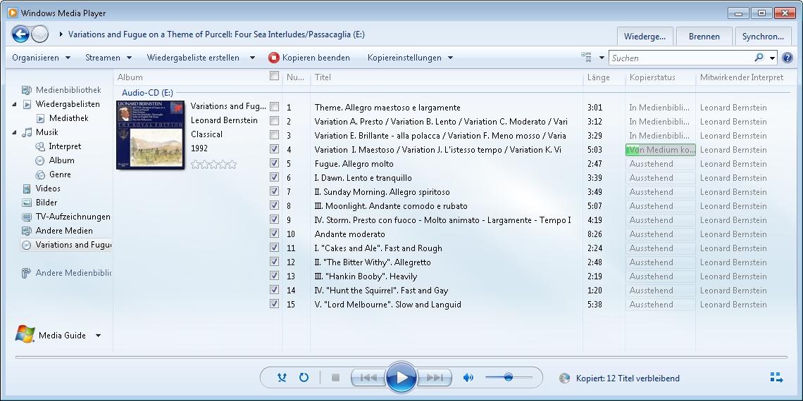 musik von cd auf handy