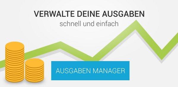 Ausgaben Manager: Schicke Haushaltsbuch-App momentan kostenlos