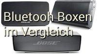 Bluetooth Boxen im Vergleich: BOSE, Samsung und Cambridge Audio geben sich die Ehre
