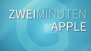 2 Minuten Apple: Die News zum Freitag (KW 31)