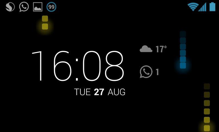 DashClock: WhatsApp-Benachrichtigungen auf dem Lockscreen anzeigen