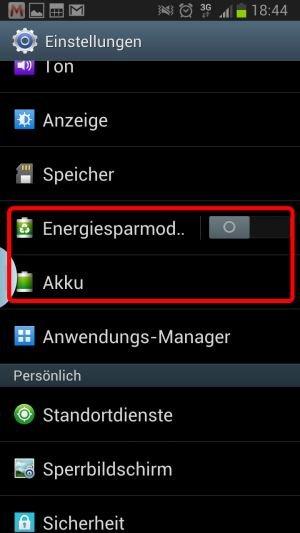 Akku Samsung Galaxy S3 Schnell Leer