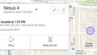 Android Device Manager: Google-Service zum Finden von gestohlenen/verlorenen Smartphones angekündigt