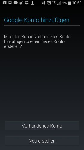 google-konto-android