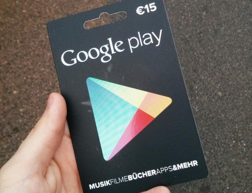 play karte Google Play Geschenkkarten: Ab heute auch bei Media Markt und  play karte
