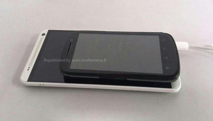 HTC One Max: Geleaktes Bild zeigt das Phablet im Größenvergleich