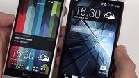 HTC One mini vs. HTC One: Edel-Smartphones im Videovergleich